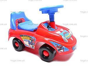 Машина-каталка с музыкальным рулем, JR903B