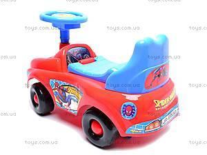 Машина-каталка с музыкальным рулем, JR903B, детские игрушки