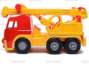 Машина-кран «Акрос», 0572cp0031001032, игрушки