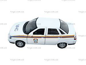 Машина Lada 110 «МЧС» , 42385RE-W, фото