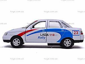 Машина Lada 110 «Ралли», 42385RY-W, купить