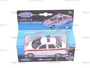 Машина Lada 110 «Скорая помощь», 42385AE-W, купить