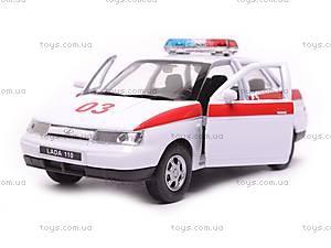 Машина Lada 110 «Скорая помощь», 42385AE-W, отзывы