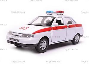Машина Lada 110 «Скорая помощь», 42385AE-W