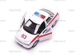 Машина Lada 110 «Скорая помощь», 42385AE-W, игрушки