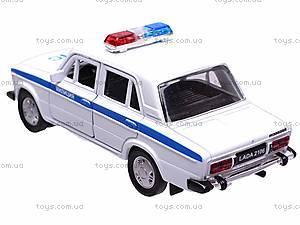 Машина Lada 2106 «Милиция», 42381PB-W, фото