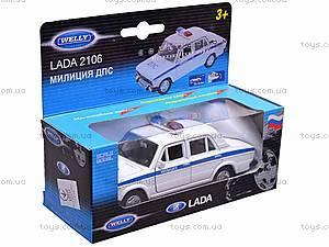 Машина Lada 2106 «Милиция», 42381PB-W, отзывы