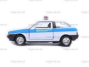 Машина Lada 2108 «Милиция», 42377PB-W, фото