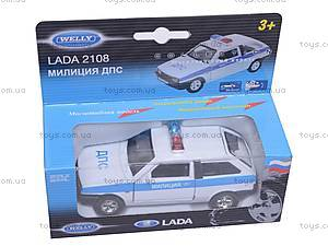 Машина Lada 2108 «Милиция», 42377PB-W, цена