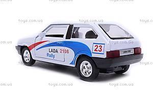Машина Lada 2108 «Ралли», 42377RY-W, фото