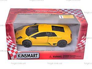 Машина Lamborghini Murcielago LP 640, KT5317W, игрушки