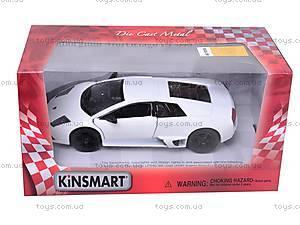 Машина Lamborghini Murcielago LP 640, KT5317W, детские игрушки