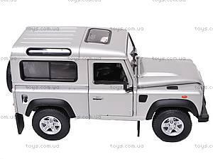 Машина Land Rover Defender, 22498W, купить