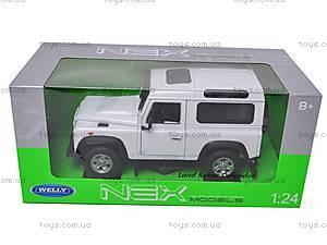 Машина Land Rover Defender, 22498W, фото