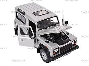Машина Land Rover Defender, 22498W, отзывы