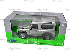 Машина Land Rover Defender, 22498W, игрушки