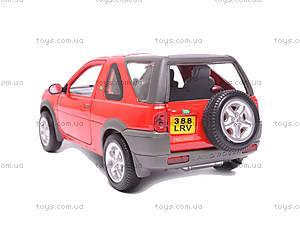 Машина Land Rover Freelander, 22077W, игрушки