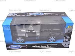 Машина Land Rover «Range Rover», 22415, детские игрушки