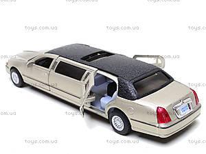 Машина Lincoln 7d, KT7001W, toys.com.ua