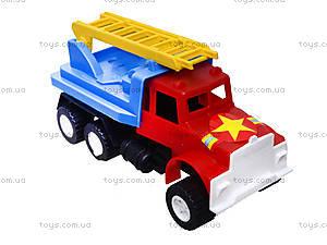 Игрушечный грузовик «Пожарная машина», 03-303, фото