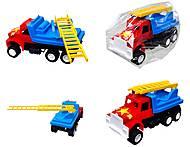 Игрушечный грузовик «Пожарная машина», 03-303, toys.com.ua