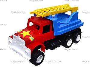 Игрушечный грузовик «Пожарная машина», 03-303, цена
