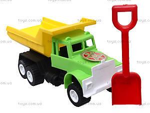 Игрушечная машина «Самосвал», с лопаткой, 03-301, игрушки