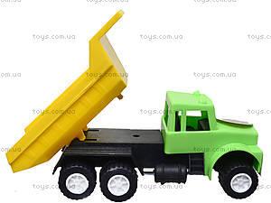 Игрушечная машина «Самосвал», с лопаткой, 03-301, toys.com.ua