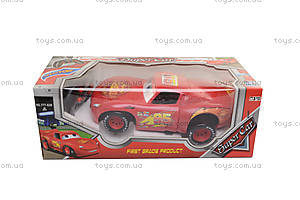 Машина «МакКуин», на радиоуправлении, 777-528, детские игрушки