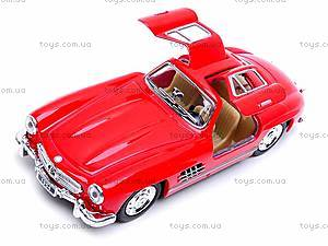 Игрушечная машина Mercedes-Benz 300SL, KT5346W, игрушки