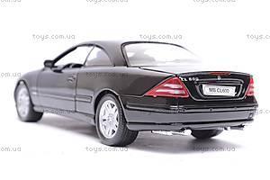Машина Mercedes-Benz CL600, 22073W, игрушки