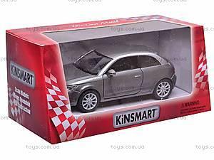 "Машина металл KT5350W (96шт/4)"" Audi A1""в кор. 12см, KT5350W, фото"