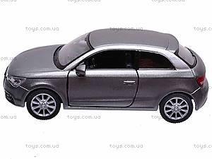 """Машина металл KT5350W (96шт/4)"""" Audi A1""""в кор. 12см, KT5350W, отзывы"""