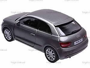 """Машина металл KT5350W (96шт/4)"""" Audi A1""""в кор. 12см, KT5350W, цена"""
