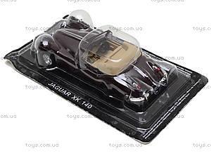 Машина металлическая JAGUAR XK 140,