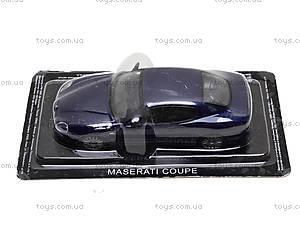 Машина металлическая Maserati Coupe, , купить