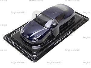 Машина металлическая Maserati Coupe, , фото