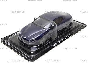 Машина металлическая Maserati Coupe,