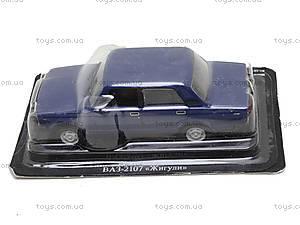 Машина металлическая ВАЗ 2107, , фото