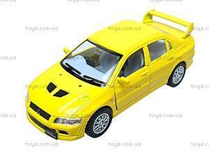 Металлическая модель машины «Mitsubishi Lancer Evolution VII», KT5052W, купить