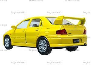 Металлическая модель машины «Mitsubishi Lancer Evolution VII», KT5052W, игрушки