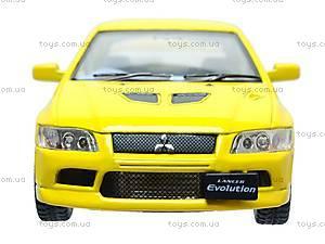 Металлическая модель машины «Mitsubishi Lancer Evolution VII», KT5052W, магазин игрушек