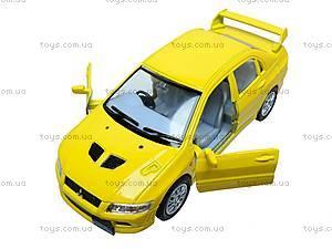 Металлическая модель машины «Mitsubishi Lancer Evolution VII», KT5052W, toys