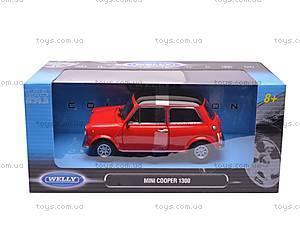 Машина Mini Cooper 1300 , 22496W, цена