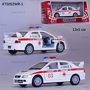 Машина Mitsubishi Lancer «Скорая помощь», KT5052WR-1