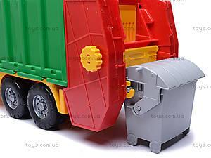 Машина мусоровоз, 0497cp0030401032, детские игрушки