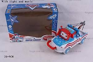 Машина музыкальная «Тачки», 238B