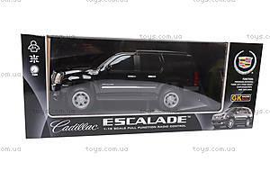 Машина на радиоуправлении Cadillac Escalade, 866-1602B, детские игрушки