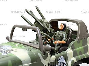 Машина на радиоуправлении «Военный джип», 3008, детские игрушки