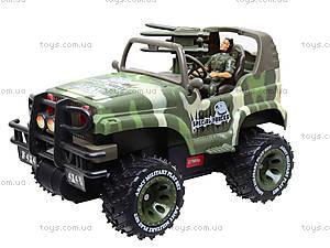 Машина на радиоуправлении «Военный джип», 3008, toys.com.ua